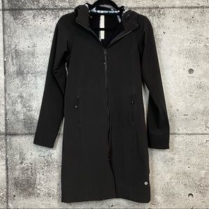Lululemon // Long Soft Shell Jacket Black 2